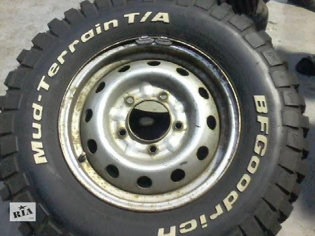 Б/у диск с шиной для легкового авто- объявление о продаже  в Киеве