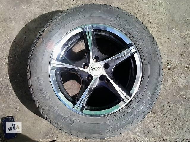 бу Б/у диск с шиной для легкового авто в Дубно