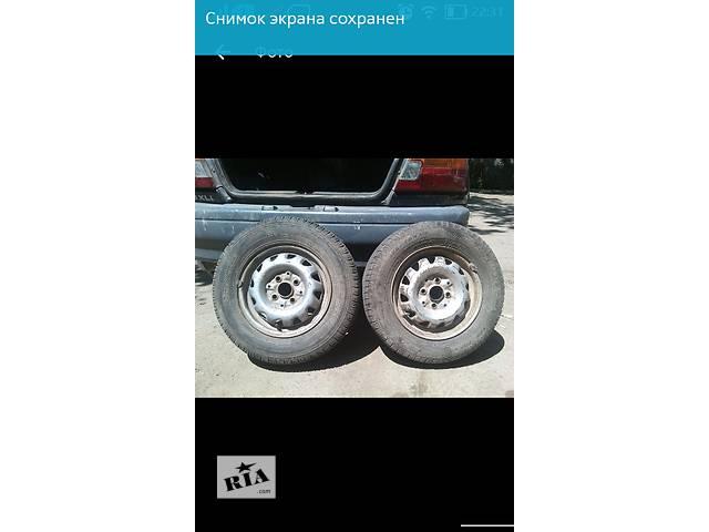 Б/у диск с шиной для легкового авто- объявление о продаже  в Одессе