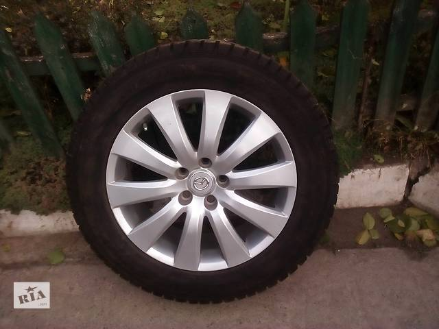 Б/у диск с шиной для легкового авто- объявление о продаже  в Черкассах