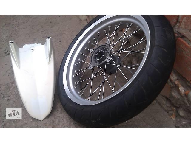 Б/у диск с шиной для мотоцикла Husqvarna SM 610- объявление о продаже  в Чугуеве