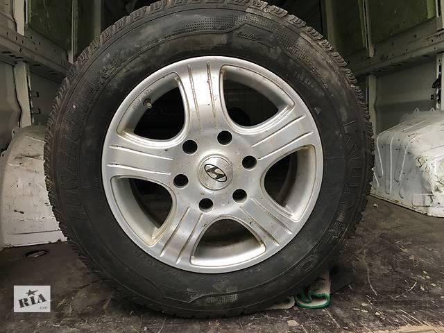 продам Б/у диск с шиной для микроавтобуса Hyundai H 1 бу в Ужгороде