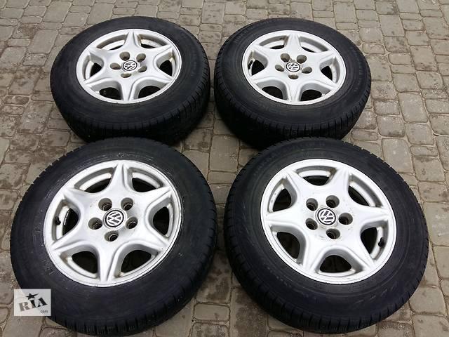 купить бу Б/у диск с шиной для микроавтобуса Volkswagen T4 (Transporter) в Харькове