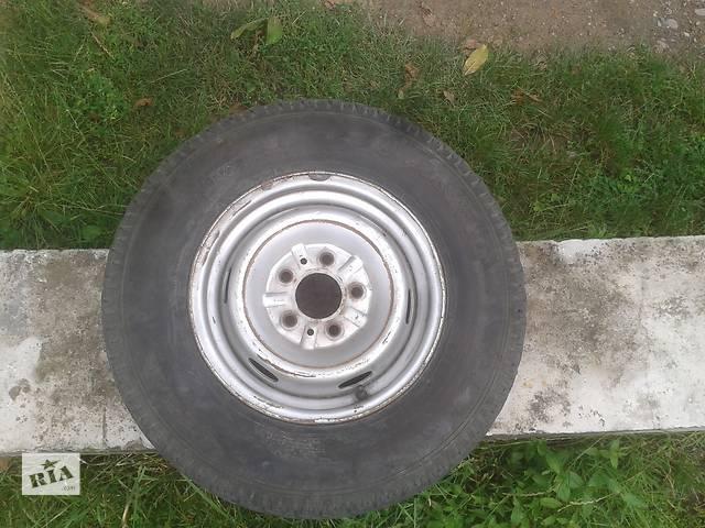 продам 195/R14C Б/у2 диска с шиной для микроавтобуса бу в Мукачево