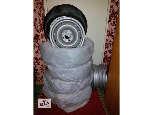 купить бу Б/у диск с шиной для минивена Citroen Berlingo в Киеве