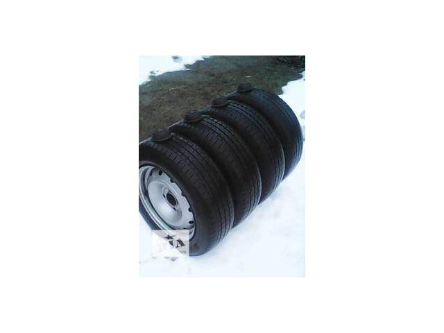 купить бу Б/у диск с шиной для минивена Peugeot Partner в Шполе