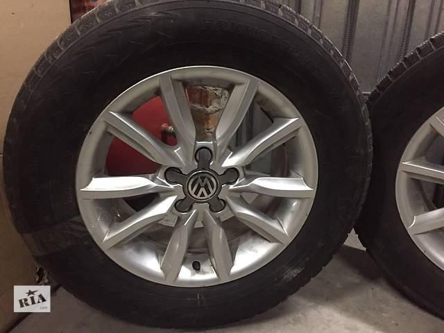 продам Б/у диск с шиной для минивена Volkswagen бу в Харькове