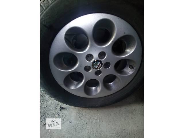 Б/у диск с шиной для седана Alfa Romeo 156- объявление о продаже  в Киеве