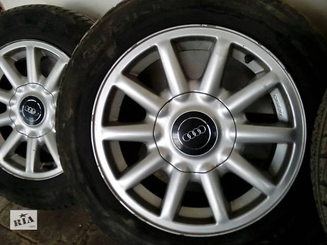 купить бу Б/у диск с шиной для седана Audi 80 R15 в Немирове (Винницкой обл.)