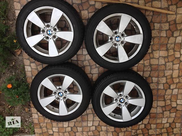 продам диски с шинами для седана BMW 530XI бу в Киеве