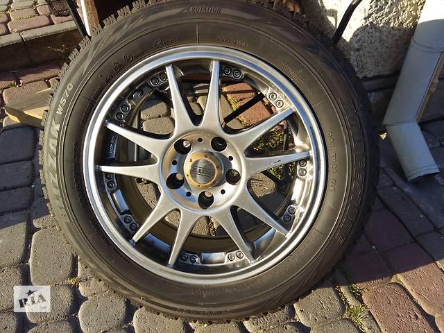 бу Б/у диск с шиной для седана Mitsubishi Lancer X в Львове