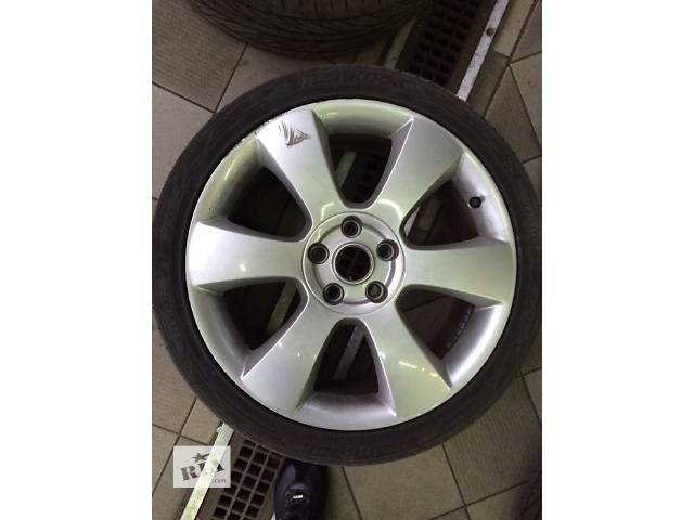 продам Б/у диск с шиной для седана Skoda SuperB R18 шина Hankook Ventus  Evo 225/40 R18 бу в Кривом Роге (Днепропетровской обл.)