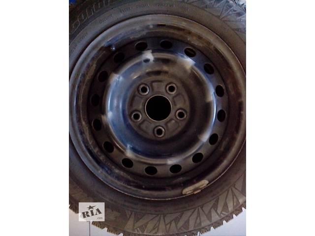 бу Б/у диск с шиной для седана Toyota Avensis, GEELY Emgrand в Мариуполе