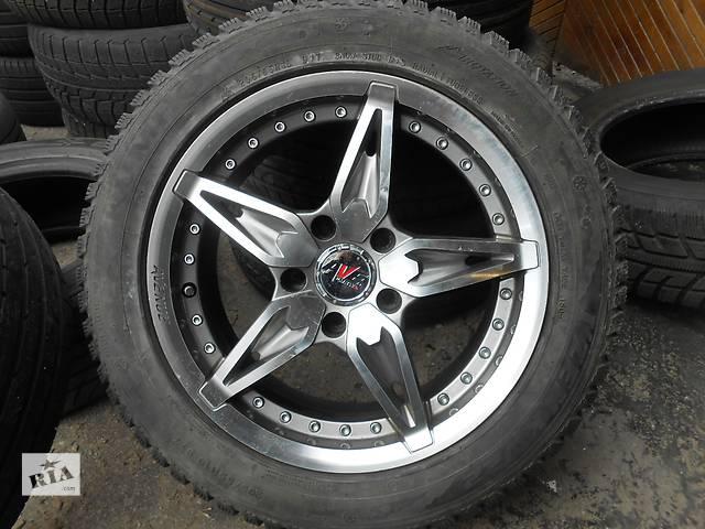 продам Б/у диск с шиной для седана Toyota Avensis бу в Донецке