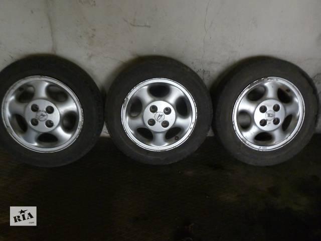 Б/у диск с шиной для седана ВАЗ 21115- объявление о продаже  в Долинской