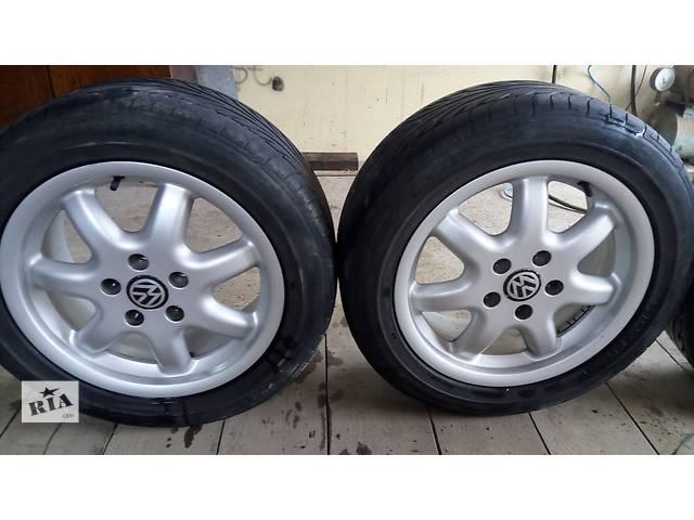 купить бу Б/у диск с шиной для седана Volkswagen Passat B5 в Беляевке (Одесской обл.)