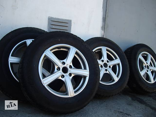 Б/у диск с шиной для универсала Mitsubishi Outlander XL- объявление о продаже  в Тернополе