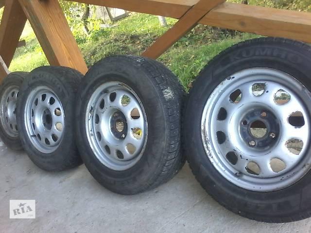 бу Б/у диск с шиной для универсала Volkswagen Passat B3 в Черновцах