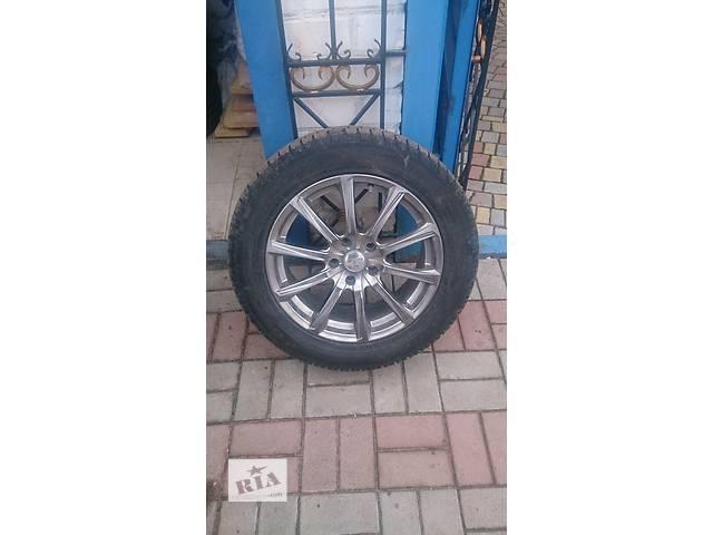 продам Б/у диск с шиной комплект зимних колес R17 225/55 бу в Николаеве