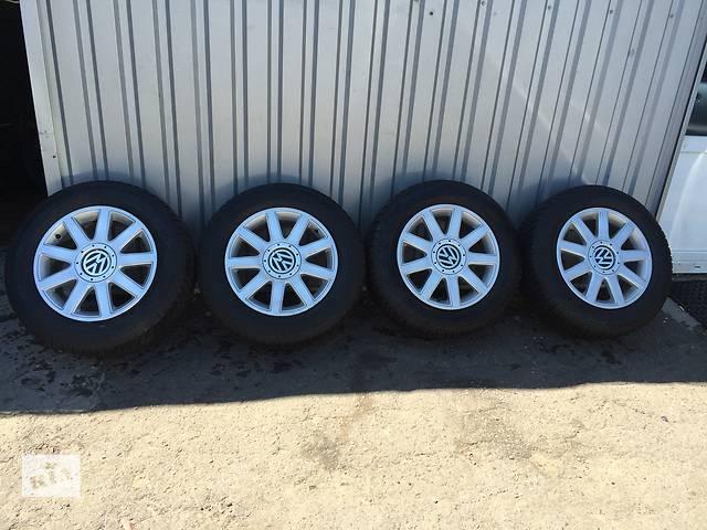 продам зимняя резина с дисками для кросовера Volkswagen Tiguan,шиномонтаж в подарок бу в Киеве