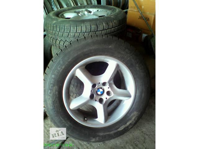 продам Б/у диск з шиною для легкового авто BMW X5 бу в Черновцах
