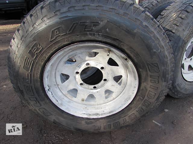 бу Б/у диск з шиною для легкового авто Nissan Patrol в Черновцах
