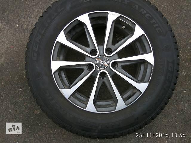 продам Б/у диск з шиною для легкового авто Nissan Qashqai бу в Киеве