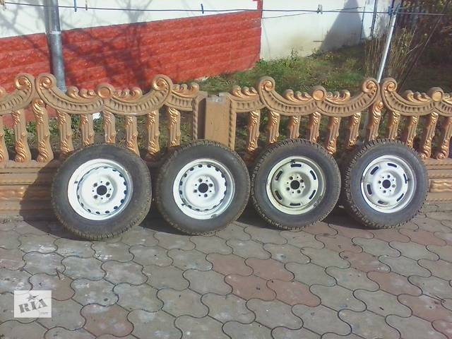Б/у диск з шиною для легкового авто ВАЗ- объявление о продаже  в Тернополе