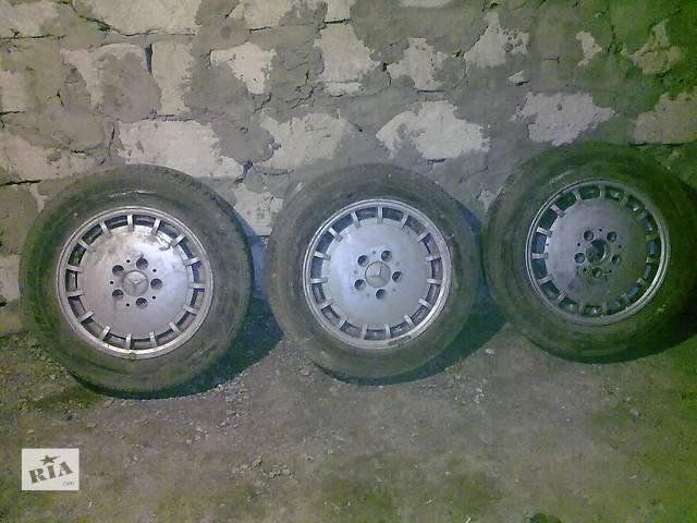 бу Б/у диск з шиною для седана Mercedes 123 124 126 190 в Новоселице