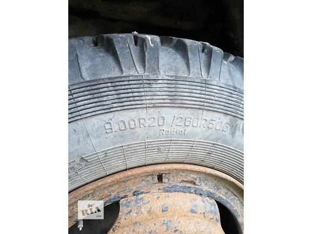 Б/у диск з шиною для вантажівки Зил, Камаз- объявление о продаже  в Радехове