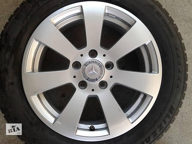 купить бу Б/у диски 16 5/112 ЕТ39 Mercedes W204 кузов в Киеве