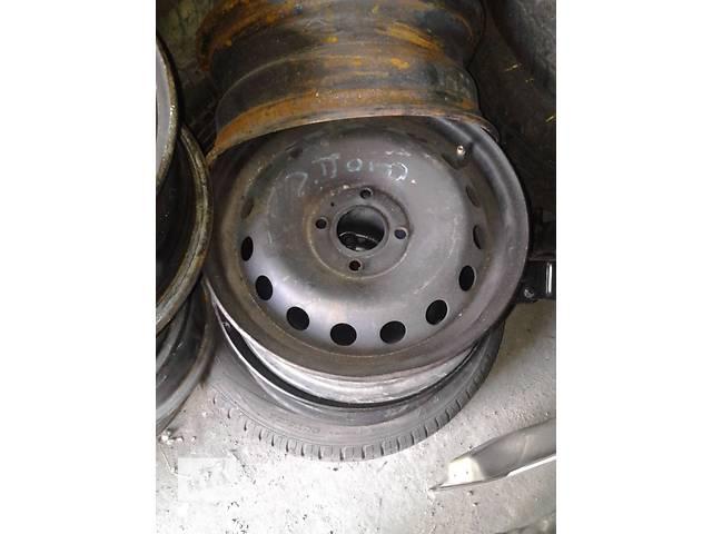продам Б/у диски металические R-14 для легкового авто Renault Kangoo бу в Ковеле