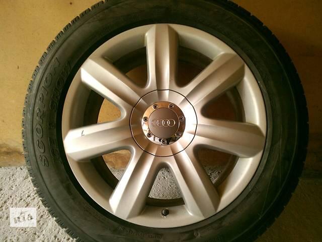 купить бу Б/у Диски R19 + зимняя резина Audi Q7, Volkswagen Touareg, porsche cayenne  в Киеве