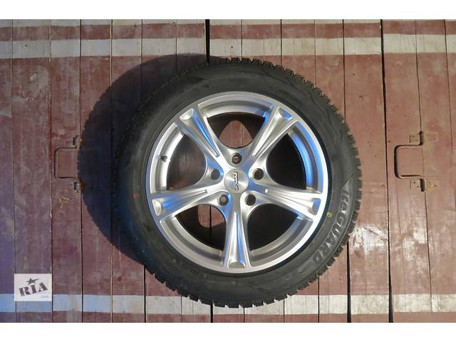 продам Б/у диски с шиной Yokohama ice guard 205/55/R16 бу в Змиеве