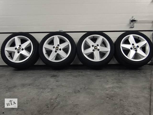 Б/у диски з шиною для легкового авто Chevrolet Epica,Evanda,Lacetti диски R17 ET49  4x114.3 Шини Hankook 215/50 R17- объявление о продаже  в Львове