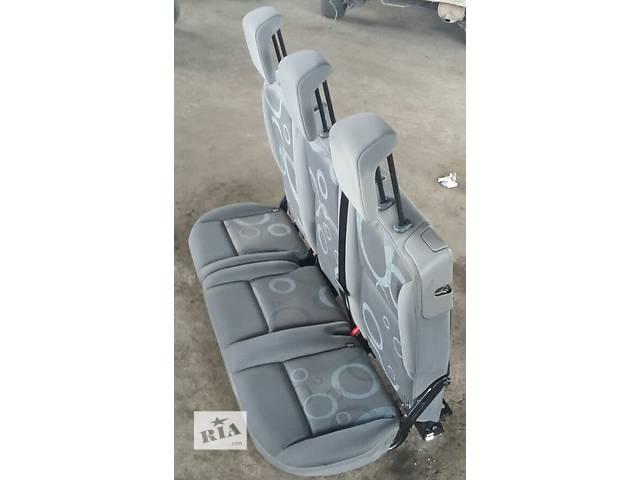 бу Б/у Диван Сиденье Сидіння Renault Kangoo Кенго 1,5 DCI К9К B802, N764 2008-2012 в Луцке