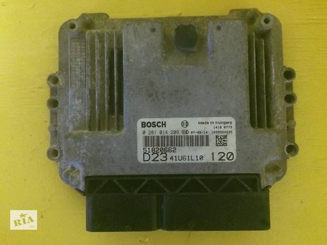 бу Б/у ЭБУ блок управления двигателем  BOSCH 0281014209 Fiat Ducato 2,3JTD c 2006г. Фиат Фіат Дукато в Ровно