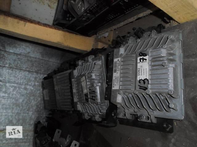 купить бу Б/у ЭБУ Блок управления двигателем Мозги Renault Рено Кенго, Меган2, Сценик 1,5 DCI в Луцке