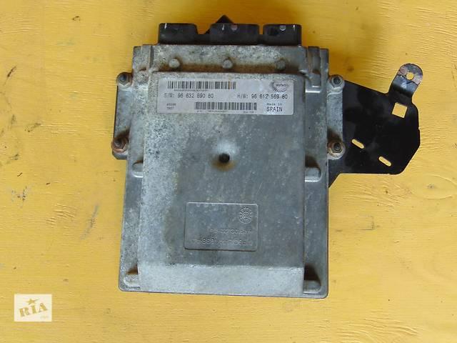 купить бу Б/у ЭБУ блок управления двигателем Пежо Боксер Peugeot Boxer III 2,2 HDI с 2006г. в Ровно