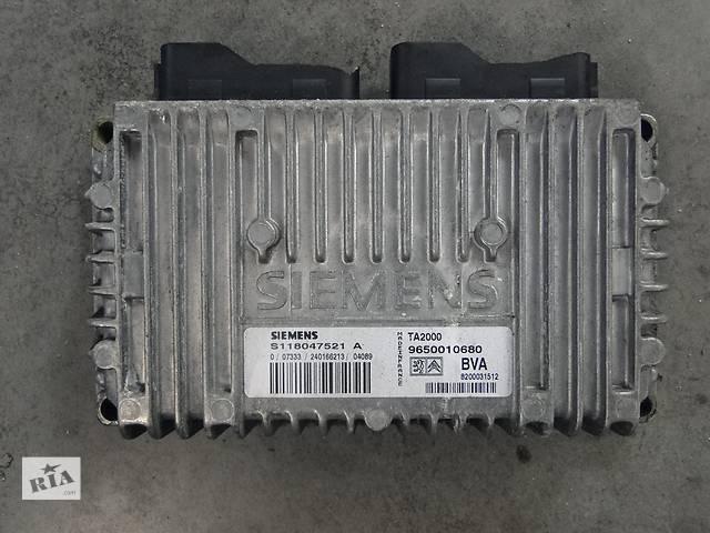 бу Б/у ЕБУ блок управління акпп для легкового авто Citroen Peugeot 9650010680 в Львове