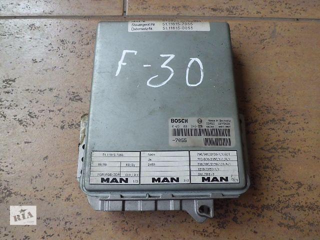 продам Б/у Электрооборудование двигателя для MAN F 2000 бу в Черновцах