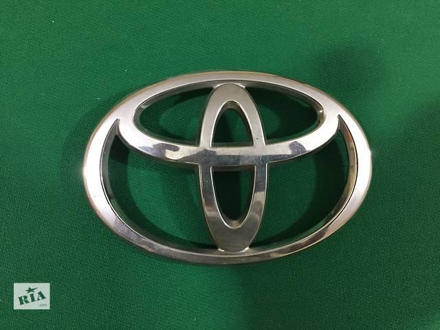Б/у эмблема для легкового авто Toyota- объявление о продаже  в Запорожье