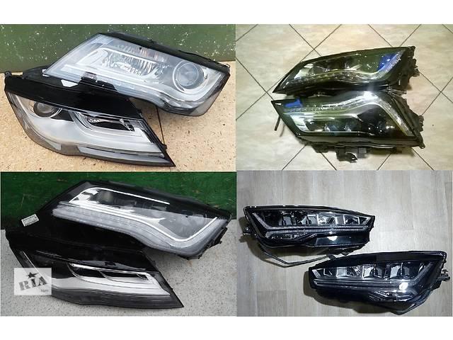 продам Б/у фара для легкового авто Audi A7 бу в Львове