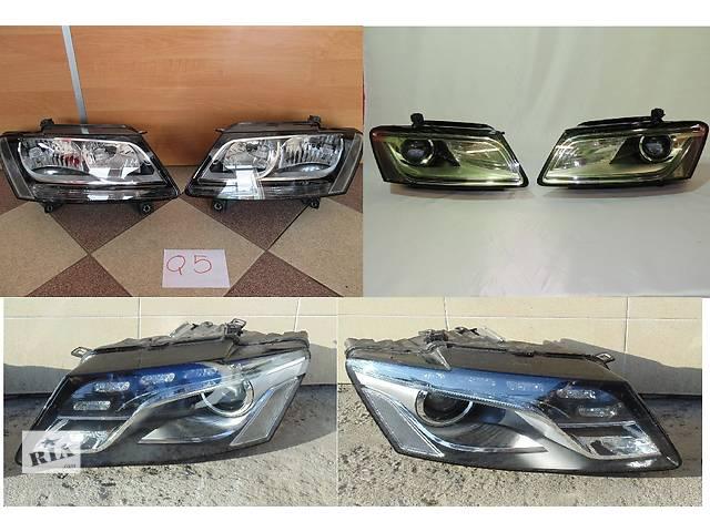 продам Б/у фара для легкового авто Audi Q5 бу в Львове