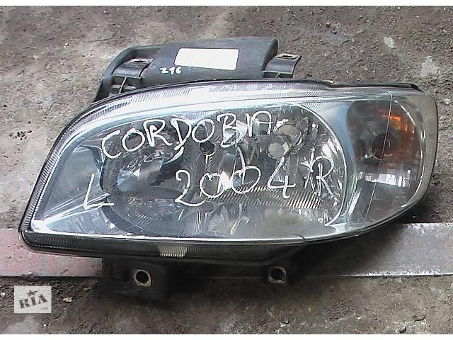 купить бу Б/у фара для легкового авто Seat Cordoba в Сумах