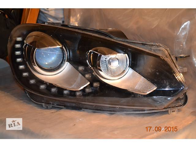 купить бу Б/у фара для Volkswagen GOLF-VI в Луцке
