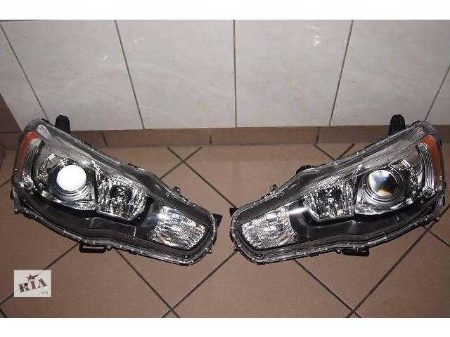 купить бу Б/у фара, фонарь для седана Mitsubishi Lancer X в Киеве