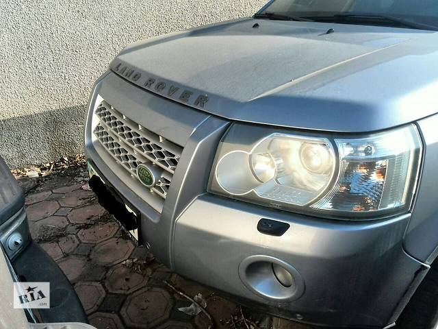 купить бу Б/у фара левая для кроссовера Land Rover Freelander 2008г в Киеве
