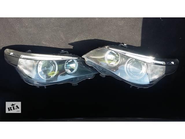 продам Б/у фары и задние фонари для седана BMW 520 Е-60 бу в Донецке