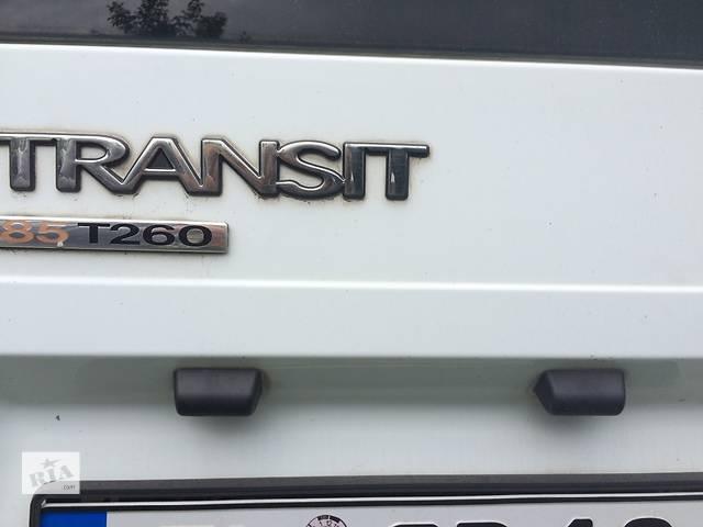 бу Б/у фонарь подсветки номера для автобуса Ford Transit Транзит с 2006г. в Ровно